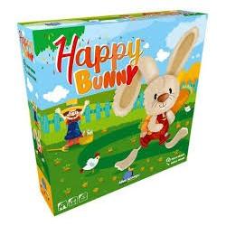 Happy Bunny - Blue orange