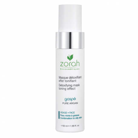 Detoxifying Mask Toning Effect GASPÉ - Zorah