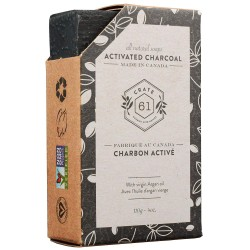 Natural Soap Activated Charcoal- Crate 61