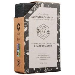 Savon Naturel Charbon Activé - Crate 61 Crate 61
