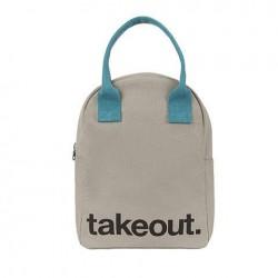 Zipper Lunch Bag Takeout - Fluf