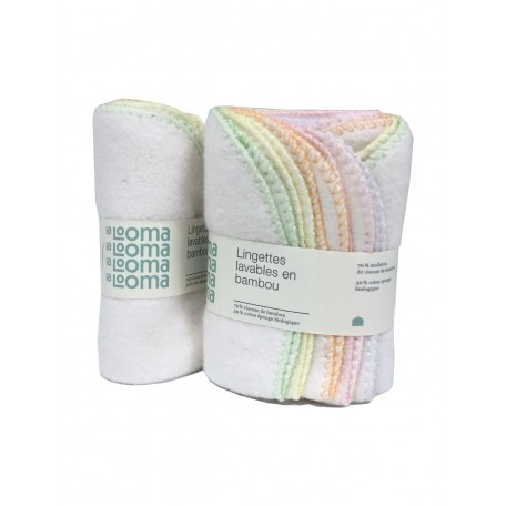 Washable Bamboo Wipes - La Looma