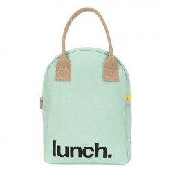 Zipper Lunch Bag Mauve / Pink - Fluf