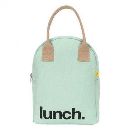Zipper Lunch Bag Mauve / Pink - Fluf