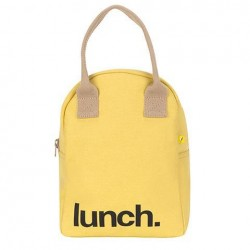 Zipper Lunch Bag Yellow - Fluf