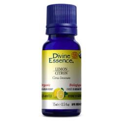Lemon essential oil - Divine Essence - 15ml