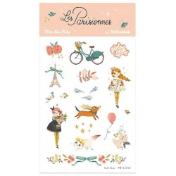 Tatouages temporaires Les Parisiennes - Moulin Roty Moulin Roty
