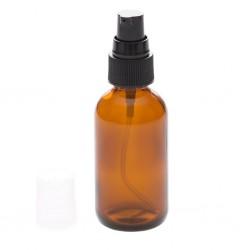 Amber Glass Pump Bottle 50 ml - La Looma