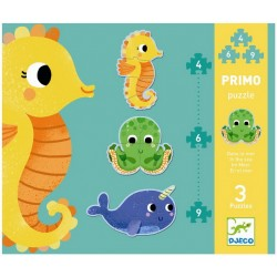 Primo puzzle In the sea - Djeco