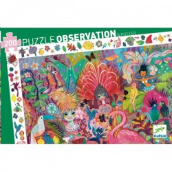 Observation Puzzle Rio Carnival 200 pieces - Djeco