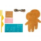 Mini Couz'In Keychains to Sew - Avenue Mandarine - Elliott