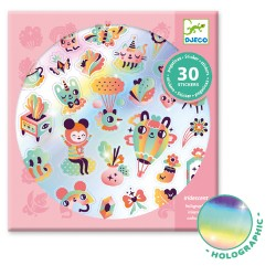 Lovely Rainbow Stickers - Djeco