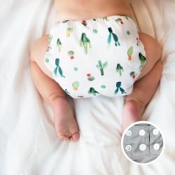 Washable All-In-1 Diaper - La Petite Ourse