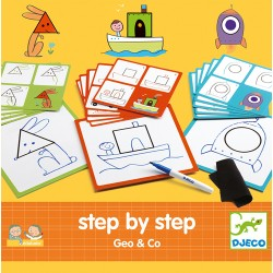 Step by step Geo & co - Djeco