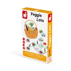 Veggie Loto Strategy game - Janod
