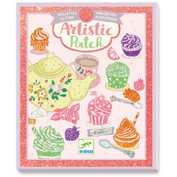 Artistic patch Sweets - Djeco