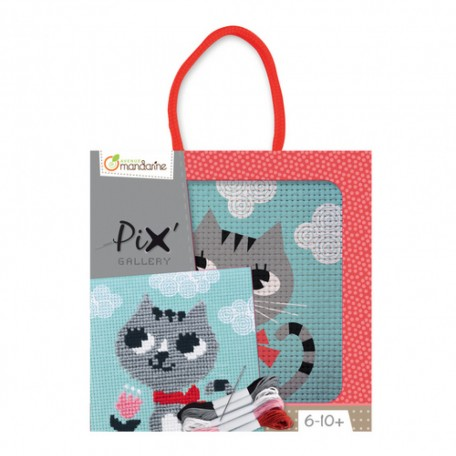 Pix' Cross Stitch - Avenue Mandarine - Lulu