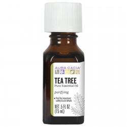 Huile Essentielle d'arbre à thé 15 ml - Aura Cacia Aura Cacia