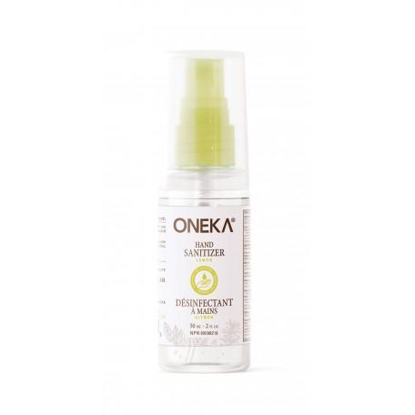 Désinfectant pour les mains Citron 60 ml - Oneka Oneka