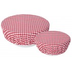 Set of 2 Bowl covers Gingham - Now Designs