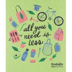 Essuie-tout réutilisable All you need is less - Now Designs Now Designs