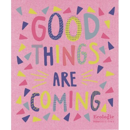 Good Things Are Coming Reusable Towel - Now Designs