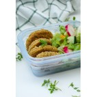 Silicone Food Container 1160 ml Clear - Minimal