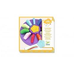 12 crayons fleurs pour les petits - DJECO Djeco