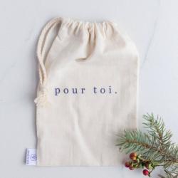 Reusable bag Pour toi - DANS LE SAC
