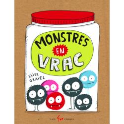 Book Monstres en vrac - ÉLISE GRAVEL