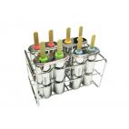 Moules à popsicles doubles - Onyx Containers