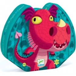 Puzzle Edmond the dragon 24 pieces - DJECO