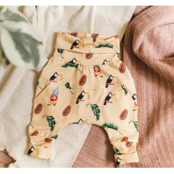 Pantalons évolutifs Harem Toucana - Little Yogi Little Yogi
