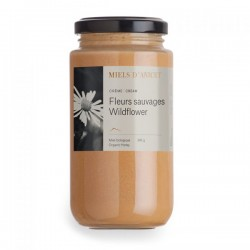 Raw Honey Wildflower 500g - Miels D'Anicet - Anne-Virginie and Anicet