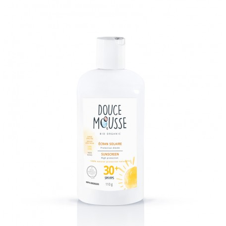 Organic Sunscreen 110 g - Douce Mousse