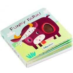 Livre Tactile et sonore Funky Farm - Lilliputiens Lilliputiens