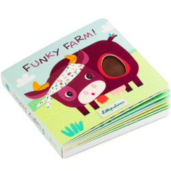 Tactile book Funky Farm - Lilliputiens