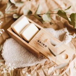 Boite en bambou pour shampoing et revitalisant en barre - BKIND BKIND