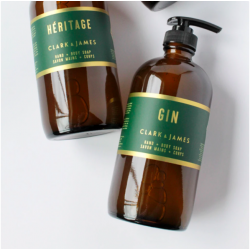 Gin hand and body soap - CLARK AND JAMES