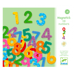 38 magnetic digits - DJECO