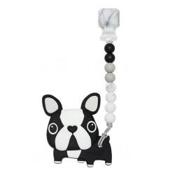 Ensemble de dentition Black Boston Terrier - LOULOU LOLLIPOP Loulou Lollipop
