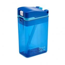 Boîte à Jus 8 oz, Bleu - NOUVEAU MODÈLE - Drink in The Box Drink in the Box