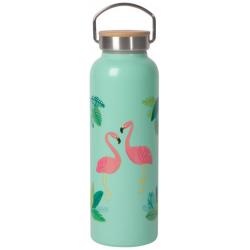 Flamingo Roam Water Bottle - NOW DESIGNS