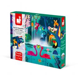 Jungle feast surprise puzzle - JANOD