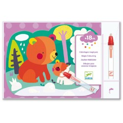 Magic Colouring - Hidden in the woods - Djeco