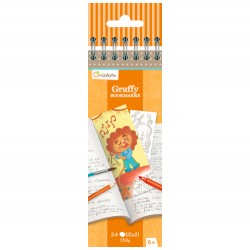 Graffy Bookmark Funny Animals - Avenue Mandarine