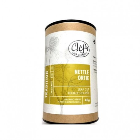 Organic Nettles Herbal Tea - Clef des Champs