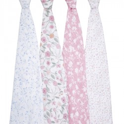 Pack 4 Cotton Covers Ma fleur - Aden & Anais
