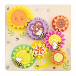 Gears and Cogs Busy Bee Learning - Le Toy Van