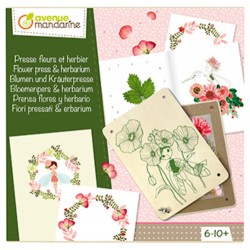 Flower Press - Avenue Mandarine